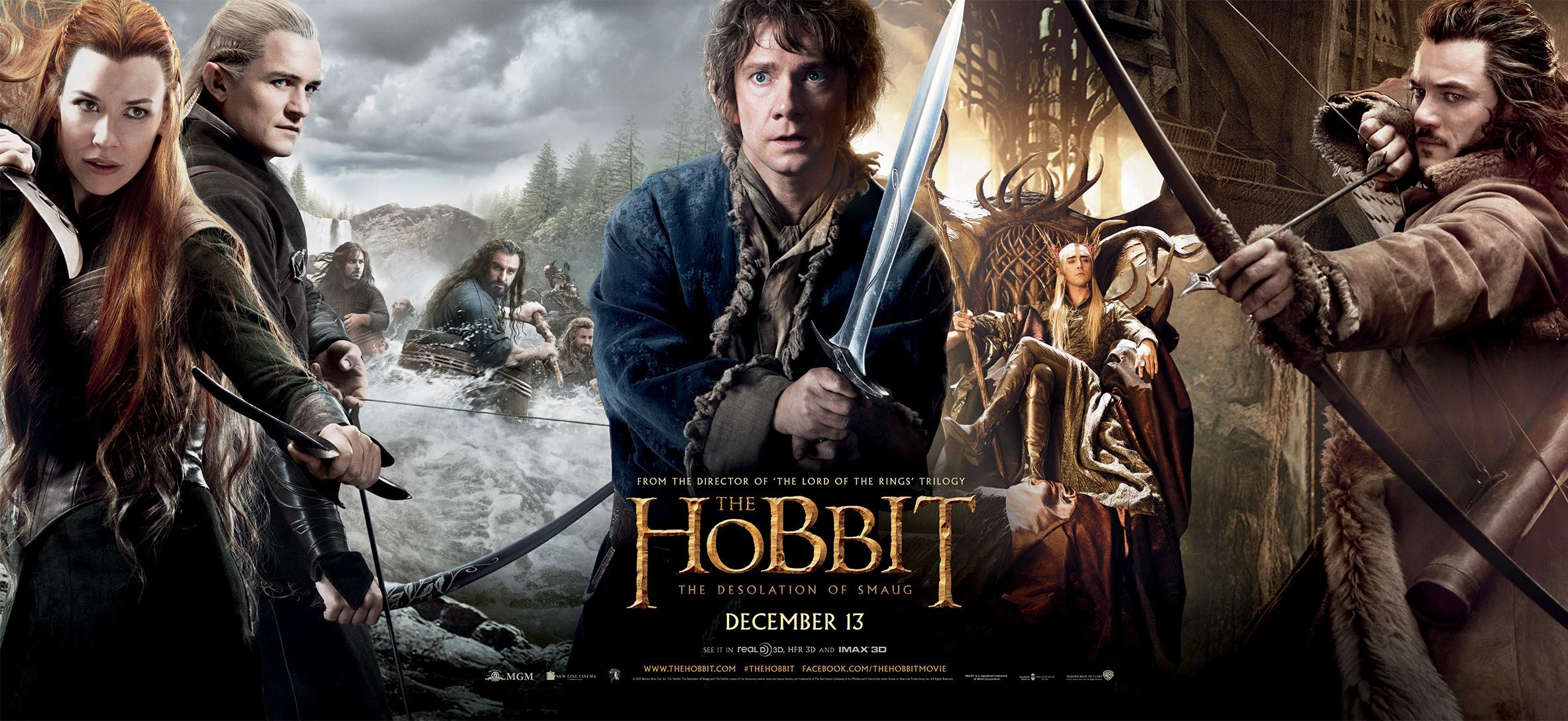 The Hobbit The Desolation Of Smaug 2013 Oh That Film Blog
