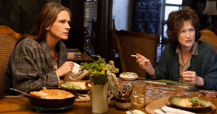 Meryl Streep and Julia Roberts: August: Osage County