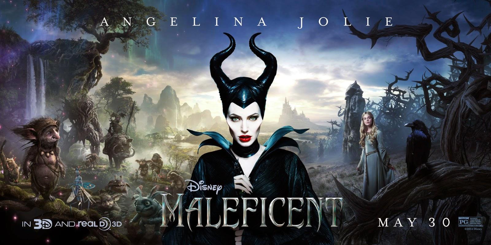 Maleficent 2014 Oh That Film Blog